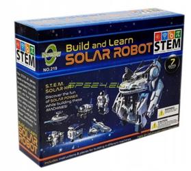 Edukacyjny robot solarny 7w1 MEGA ZESTAW STEM